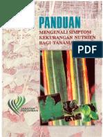 Buku Panduan - Simptom Kekurangan Nutrien