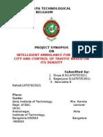 117 Intelligent Ambulance for City Traffic