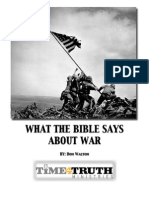 eBook - What the Bible Says About War