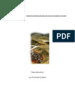 Tratamiento de drenaje de ácidos de minas en humedales construidos