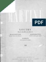 Bohuslav Martinu- PUPPETS III