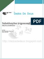 Dados de Deus - Apostila Substituições Trigonométricas