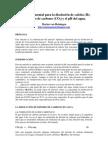 Química elemental para la disolución de calcita II_ El dióxido de carbono y el pH del agua.