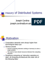History of Distributed Systems