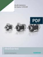 Catalogo de Algunos Motores Electricos