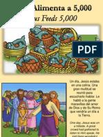 Jesus Alimenta 5000 - Jesus Feeds 5000