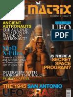 UFO Matrix Issue 4 Promo copy