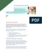 Prevenirea Sindromului de Zgaltaire