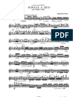 Ponce Sonata a Duo Violin