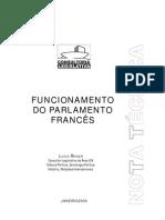 Funcionamento Do Parlameto Frances