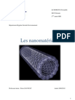Nanomateriaux Rapport