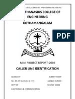 Caller Line Identification