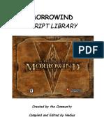 Morrowind Script Library 03