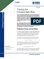 Forward Rate Bias