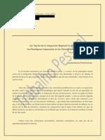 Teorías de la Integración Regional y Ciencias Sociales (versión Scribd)