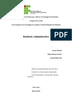 CME - Relatório Administrativo
