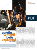 """CARDIO FOR WEIGHT LOSS EXPLAINED"""