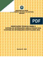SUS Auditoria Orientacoes Tecnicas AIH SIA 2004