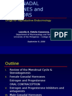 gonadal hormones and inhibitors
