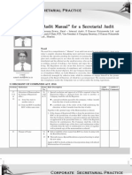 44 Audit Manual for a Secretarial Audit 1