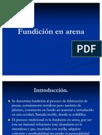 Fundicion en Arena