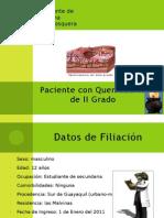 Paciente Con Quemaduras de II Grado Personal (1)