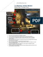Spirits of Mystery Amber Maiden - Walk Through & Strategy Guide - wWw.fishBoneGames