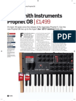 FutureMusic, issue 194, review of DSI Dave Smith Instruments Prophet 08
