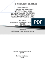 4.5 Normas Oficiales NOM y NMX
