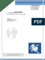 """PROCEDIMENTO ELABORAÇÃO DE """"DATA BOOK""""  DA FLD"""