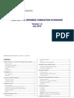 AQIS Methyl Bromide Fumigation Standard v1.5[1]