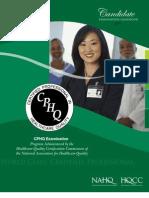 Cphq11 Handbook- Final