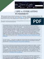 Eternal Life vs Everlasting Punishment
