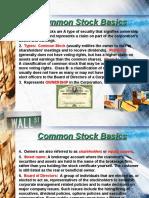 Common Stock Basics-1