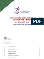 Encuesta ISA en Mérida, Yucatán (abril de 2010)