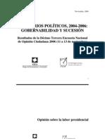 Encuesta Nacional GEA-ISA (noviembre de 2006)