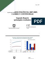 Encuesta Nacional GEA-ISA (junio de 2007)