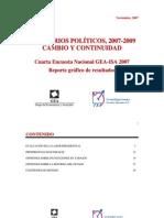 Encuesta Nacional GEA-ISA (noviembre de 2007)