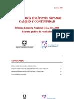 Encuesta Nacional GEA-ISA (febrero de 2008)