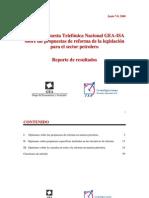 Encuesta Telefónica Nacional GEA-ISA (junio 7-8 de 2008)