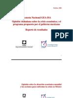 Encuesta Nacional GEA-ISA (octubre de 2008)