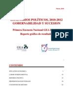 Encuesta Nacional GEA-ISA (marzo de 2010)