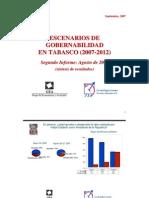 Encuesta GEA-ISA en Tabasco (agosto de 2007)