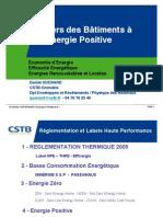 Batiments a Energie Positive