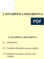 TEMA 2. Estadística Descriptiva