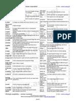 Filologia Angielska - Zestaw Wyrazen