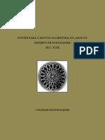 FONTES PARA O ESTUDO DA HISTÓRIA DA ARTE NO DISTRITO DE PORTALEGRE - CONCELHO DE PORTALEGRE