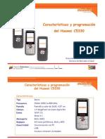 Cantv-data-Características y programación del Huawei C5330
