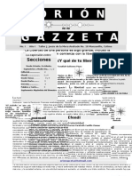 gazzeta (Estilo 2 con editorial)tamaño carta
