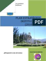 Plan Estratégico 2010-2014 Medicina Humana